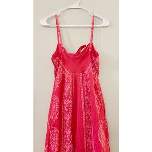 Free People Pants - Free People Red Feel The Sun Jumpsuit